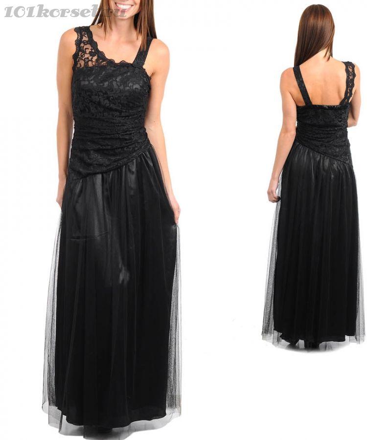 Женское платье с кружевом на рукавах, цена 1 186 грн., купить в